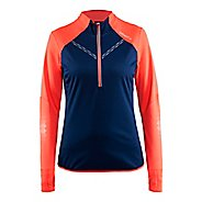 Womens Craft Brilliant 2.0 Thermal Wind Top Half-Zips & Hoodies Technical Tops
