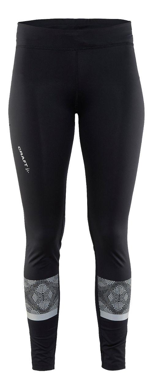 Womens Craft Brilliant 2.0 Light Tights & Leggings Pants - Black XL