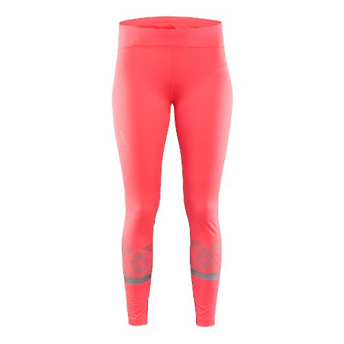 Womens Craft Brilliant 2.0 Light Tights & Leggings Pants - Shock XL
