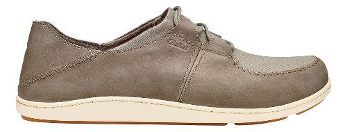 Mens Olukai Honua Casual Shoe - Clay/Clay 12