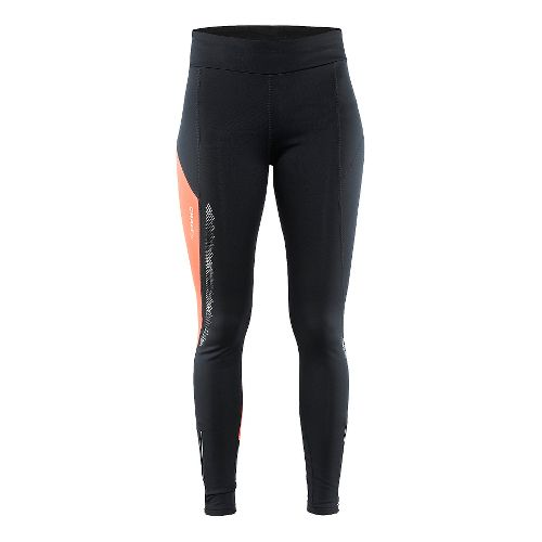 Womens Craft Brilliant 2.0 Thermal Tights & Leggings Pants - Black L