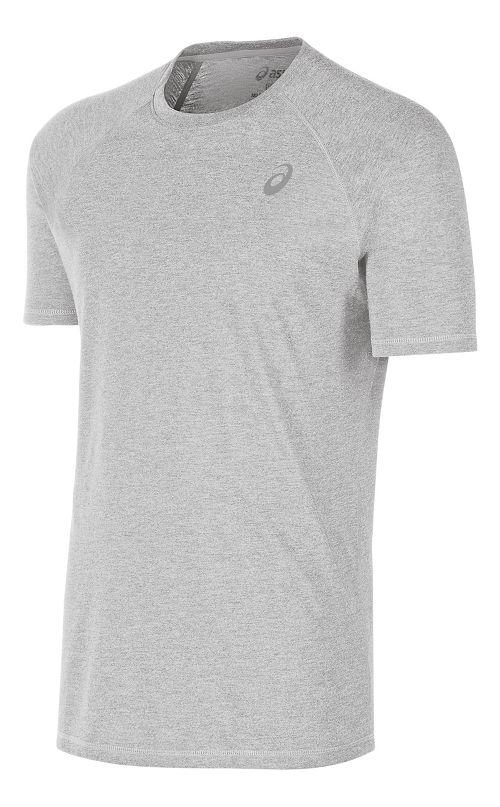 Mens ASICS TM Essential Tee Short Sleeve Technical Tops - Black XL