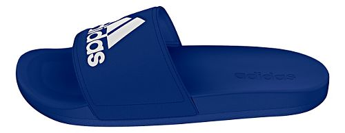 Mens Adidas Adilette CF Ultra Logo Sandals Shoe - Royal/White 8