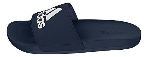 Mens Adidas Adilette CF Ultra Logo Sandals Shoe - Black/Silver 11