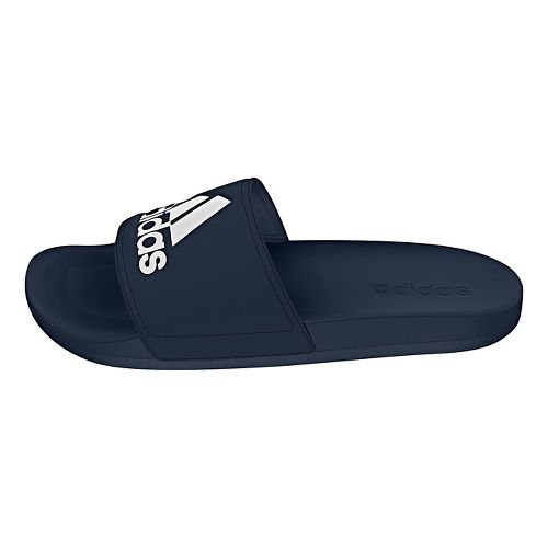 Mens Adidas Adilette CF Ultra Logo Sandals Shoe - Navy/White 11