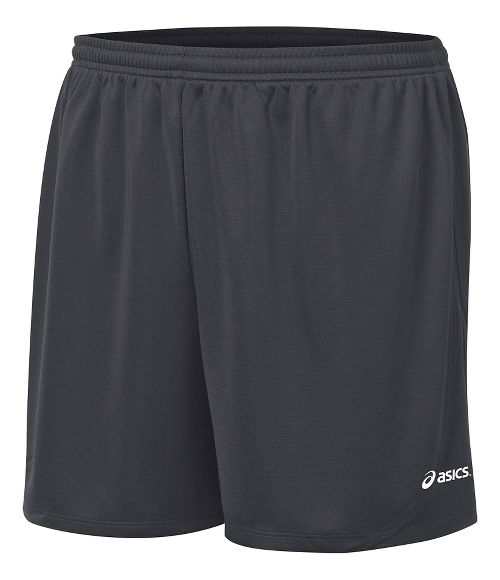 Mens ASICS Rival II Lined Shorts - Steel Grey M