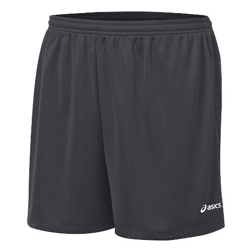 Mens ASICS Rival II Lined Shorts - Steel Grey XL