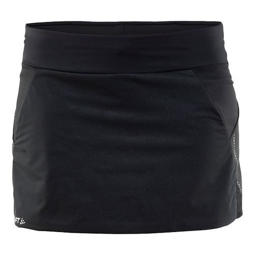 Womens Craft Cover Warm Fitness Skirts - Black L