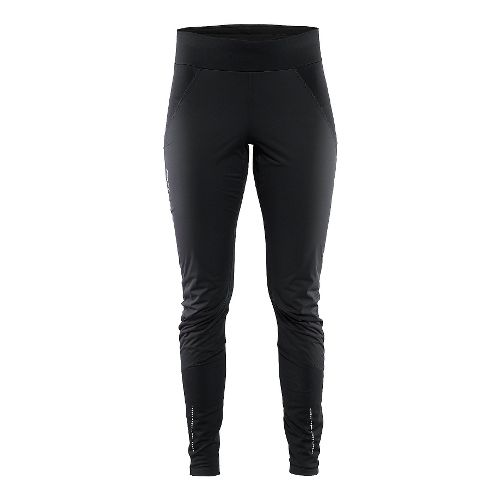 Womens Craft Cover Wind Tights & Leggings Pants - Black L