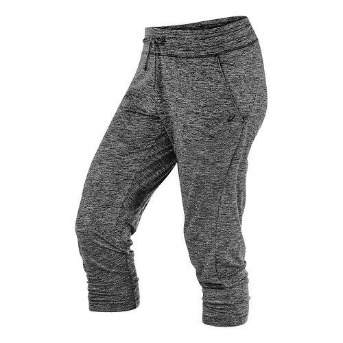 Womens ASICS ASX Lux Capri Pants - Black XL