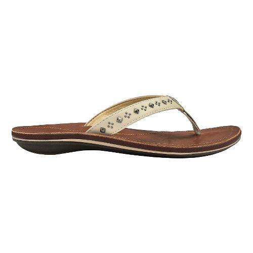 Womens Olukai Liko Sandals Shoe - Medium Beige 7