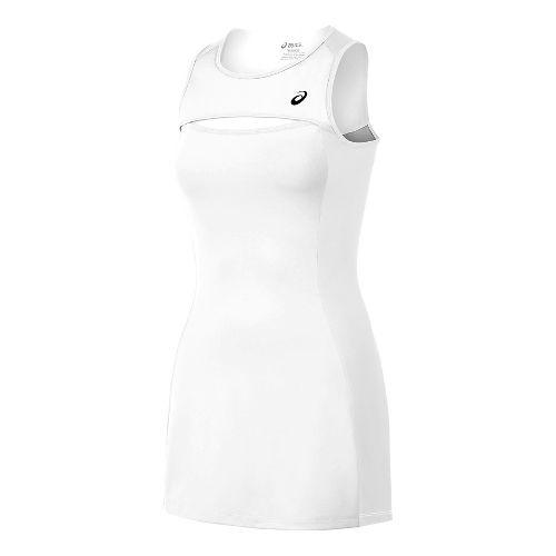 Womens ASICS Club Dresses - White S