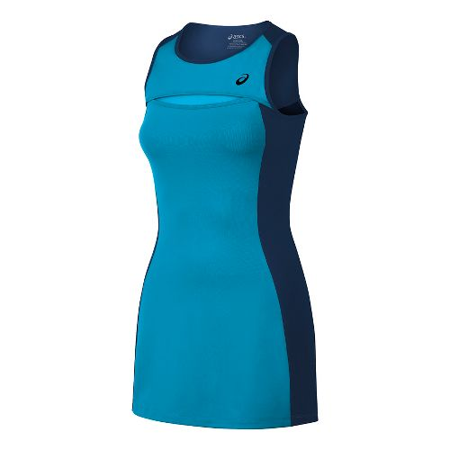 Womens ASICS Club Dresses - Diva Blue L