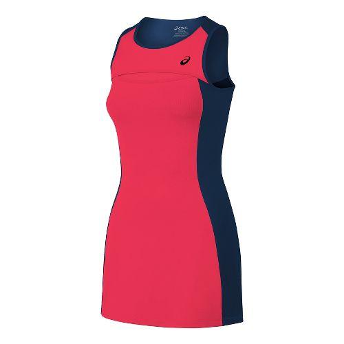Womens ASICS Club Dresses - Diva Pink M