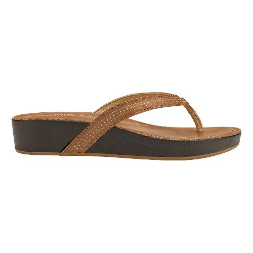 Womens Olukai Ola Sandals Shoe - Tan/Tan 10