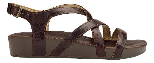 Womens Olukai Nana Sandals Shoe - Kona Coffee 8