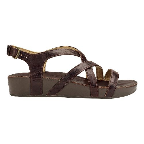 Womens Olukai Nana Sandals Shoe - Kona Coffee 9