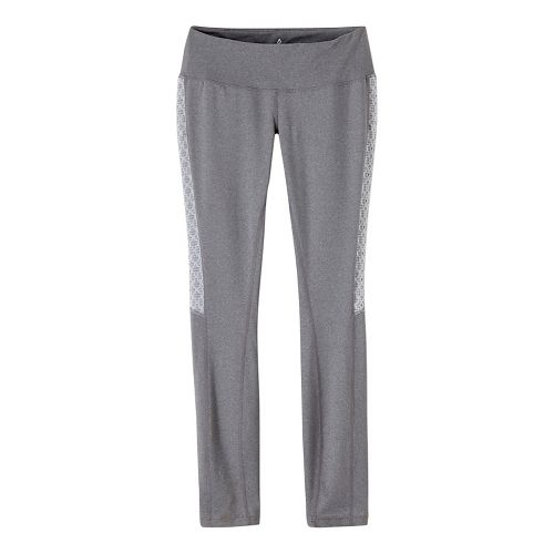 Womens prAna Lennox Tights & Leggings Pants - Grey L