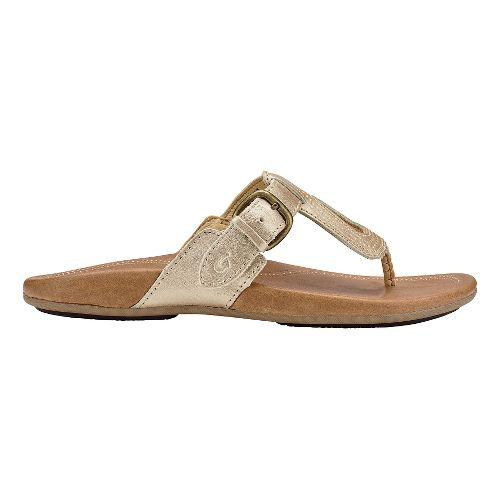 Womens Olukai Lanakila Sandals Shoe - Bubbly/Sahara 5
