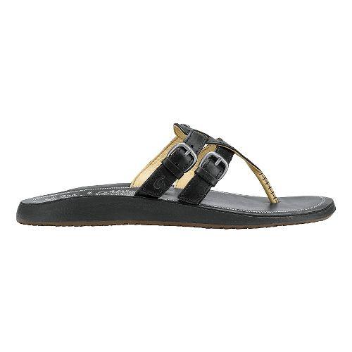Womens Olukai Honoka'a Sandals Shoe - Black/Black 8