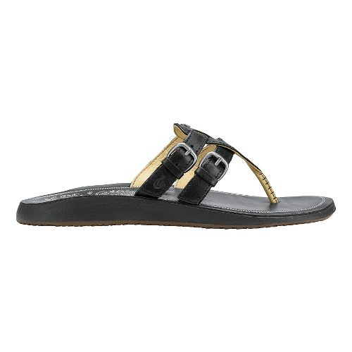 Womens Olukai Honoka'a Sandals Shoe - Black/Black 9
