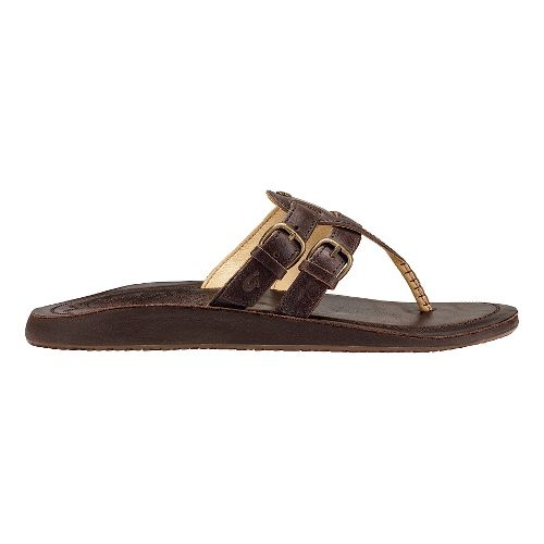Womens Olukai Honoka'a Sandals Shoe - Dark Java/Dark Java 7