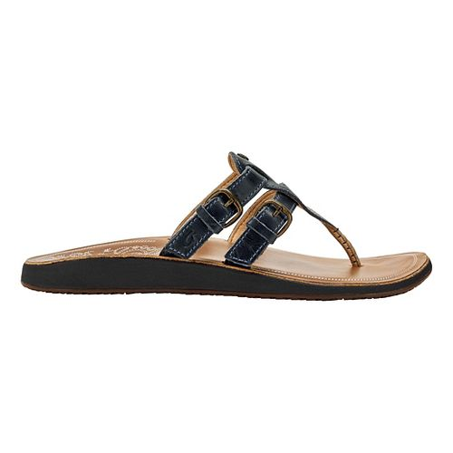 Womens OluKai Honoka'a Sandals Shoe - Indigo/Sahara 5