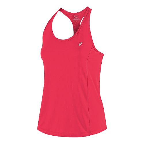 Womens ASICS Emma Racerback Sleeveless & Tank Tops Technical Tops - Diva Pink S