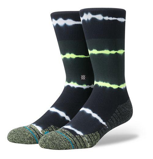 Mens Stance Fusion Meara Crew Socks - Volt L