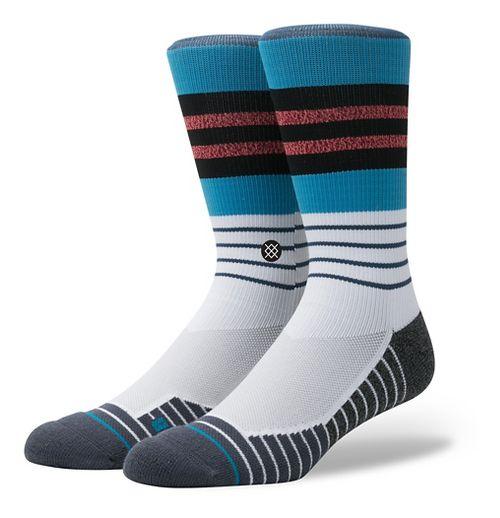 Mens Stance Fusion Triot Crew Socks - Blue M