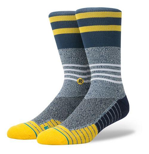 Mens Stance Fusion Lunar Crew Socks - Grey L
