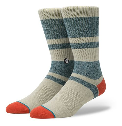 Mens Stance First Point Crew Socks - Red L