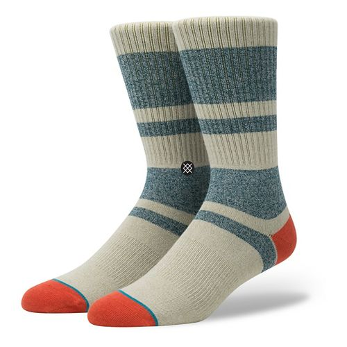 Mens Stance First Point Crew Socks - Red M