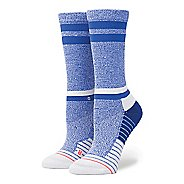 Womens Stance Fusion Sky Static Crew Socks