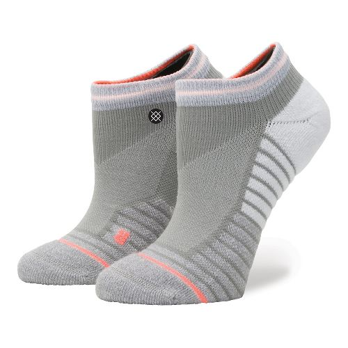 Womens Stance Fusion Blindpass Low Socks - Grey M