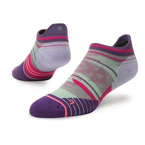 Womens Stance Run Motivation Tab Socks - Purple M
