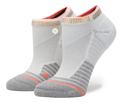 Womens Stance Fusion Endorphin Low Socks - White S