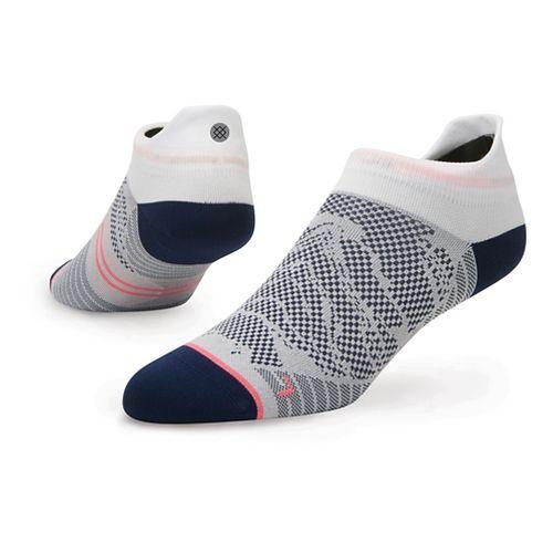 Womens Stance Run Starter Zone Tab Lightweight Socks - Navy M