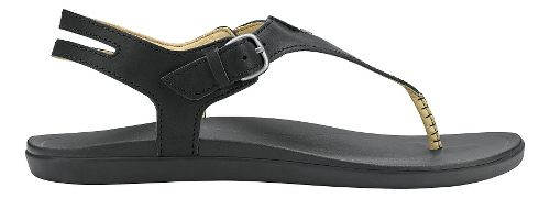 Womens OluKai Eheu Sandals Shoe - Black/Black 10