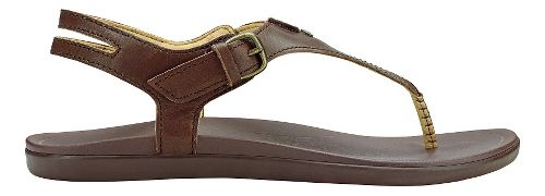 Womens Olukai Eheu Sandals Shoe - Kona Coffee 9