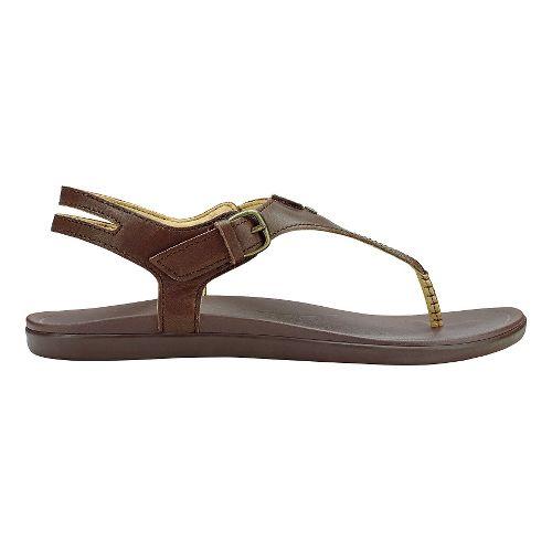 Womens Olukai Eheu Sandals Shoe - Kona Coffee 6