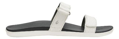 Womens Olukai Kipuka Casual Shoe - White/Black 7