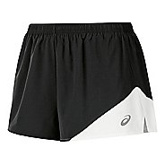 Womens ASICS Gunlap 1/2 Split Lined Shorts