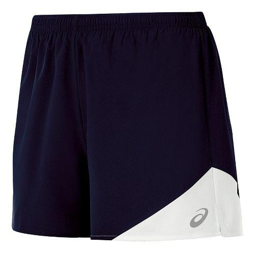 Womens ASICS Gunlap Lined Shorts - Navy/White XL