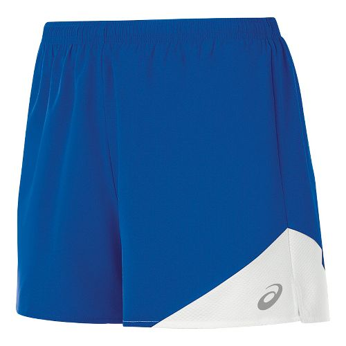 Womens ASICS Gunlap Lined Shorts - Royal/White XXL