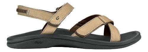Womens Olukai Nakue Sandals Shoe - Bubbly/Black 7