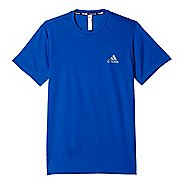 Mens Adidas Essential Tech Tee Short Sleeve Technical Tops