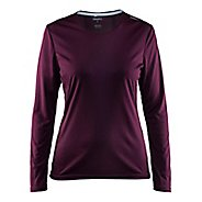 Womens Craft Mind Long Sleeve Tee Long Sleeve Technical Tops