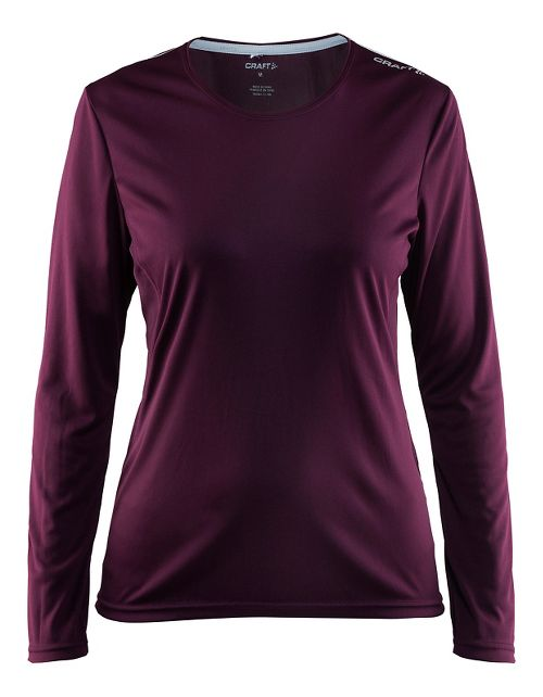 Womens Craft Mind Long Sleeve Tee Long Sleeve Technical Tops - Space S