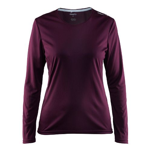 Womens Craft Mind Long Sleeve Tee Long Sleeve Technical Tops - Space L